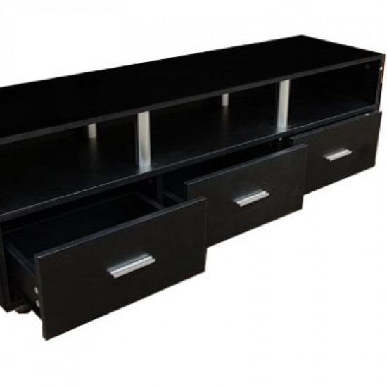 3 Drawer TV Cabinet In Two Colors, Includes Delivery