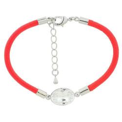 Red Swarovski Inspired Crystal Bracelet