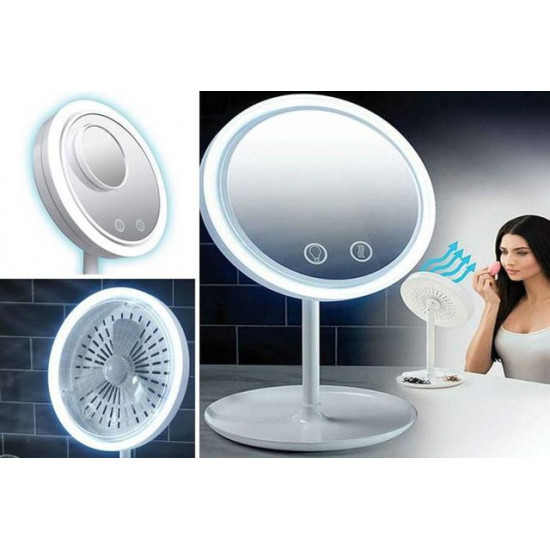 Beauty Breeze Make Up Mirror With Fan, Includes Delivery