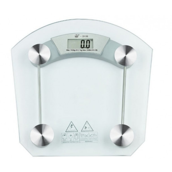Glass Digital Bathroom Scale, Includes Delivery