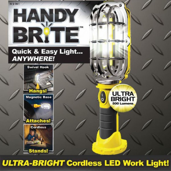 Handy Brite Ultra Bright Cordless Led Work Light, Includes Delivery