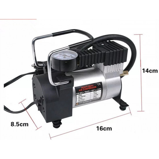 Portable Heavy Duty 12V 140PSI/965kPA Air Compressor, Includes Delivery