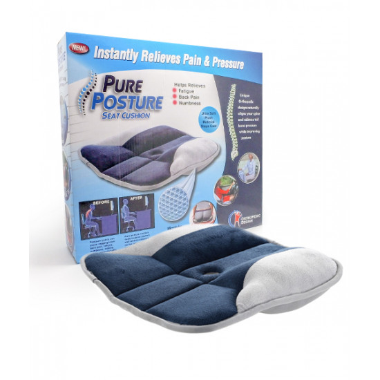Pure Posture Seat Cushion, Includes Delivery