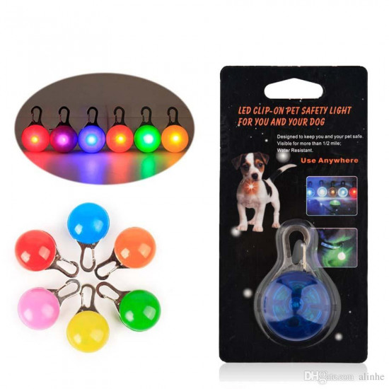 Two Led Clip On Pet Safety Light, Includes Delivery